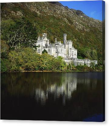Co Galway, Kylemore Abbey Canvas Print by The Irish Image Collection