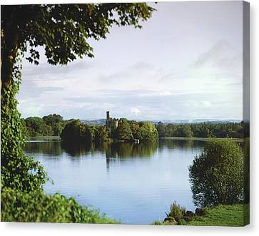 Co Roscommon, Lough Key Canvas Print by The Irish Image Collection