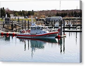 Coast Guard Canvas Print by Extrospection Art