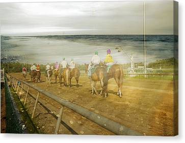 Coast Line Canvas Print by Betsy Knapp