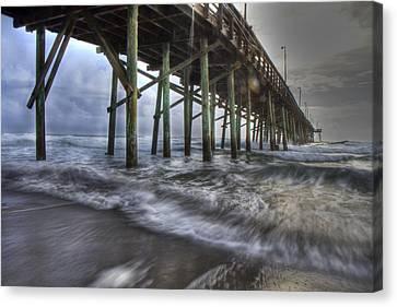 Coastal Echos  Canvas Print