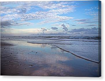 Coastal Reflections Canvas Print by Betsy Knapp