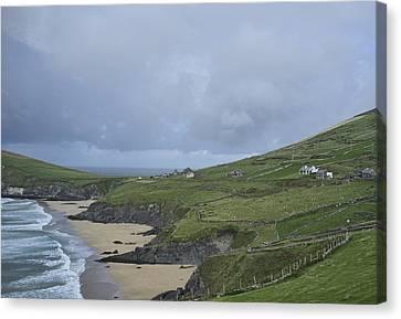 Canvas Print featuring the photograph Coastline  by Hugh Smith