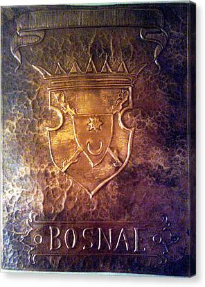 Coat Of Arms Bosnia  Canvas Print by Mak Art