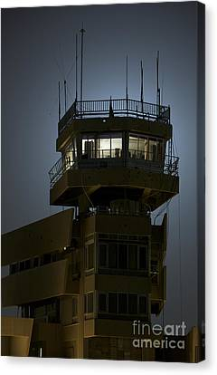 Cob Speicher Control Tower Canvas Print by Terry Moore