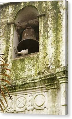 Coban Church Bell Canvas Print by John  Mitchell