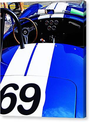 Canvas Print featuring the photograph Cobra by Randall  Cogle