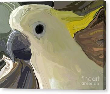 Cockatoo Two Canvas Print
