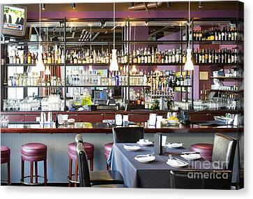 Cocktail Bar Canvas Print by Andersen Ross