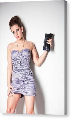 Cocktail Dress Canvas Print by Ralf Kaiser