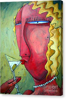 Cocktail Hour Canvas Print by Charlie Spear