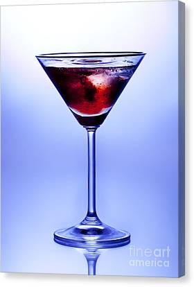 Cocktail Canvas Print by Jane Rix
