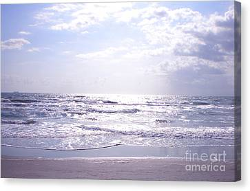 Cocoa Beach Afternoon Canvas Print by Cindy Lee Longhini