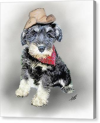 Tom Schmidt Canvas Print - Cody Wyo by Tom Schmidt
