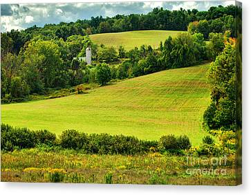 Coe's Hill Road Canvas Print by HD Connelly