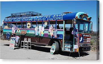 Coffee Bus Canvas Print by Dany Lison