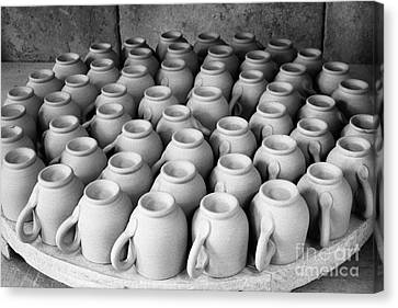 Coffee Cups Canvas Print by Gaspar Avila