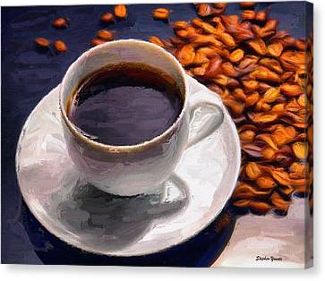 Coffee Canvas Print by Stephen Younts