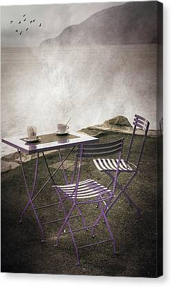 Coffee Table Canvas Print by Joana Kruse