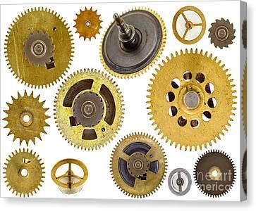 Cogwheels - Gears Canvas Print by Michal Boubin