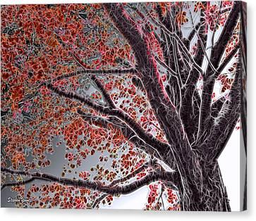 Cold Autumn Canvas Print