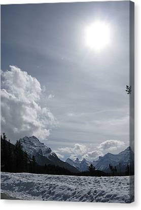 Canvas Print featuring the photograph Cold Mountains by Brian Sereda