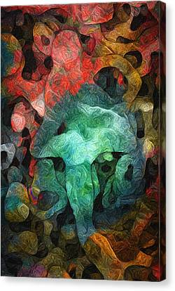 Collecting Canvas Print by Jack Zulli
