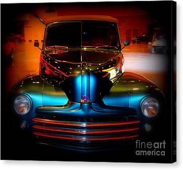 Collector Car Canvas Print