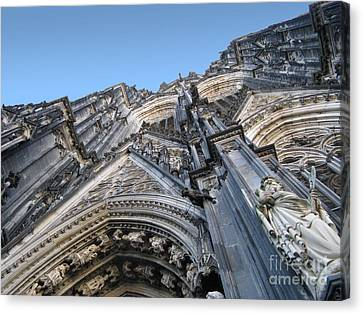 Cologne Cathedral Canvas Print by Arlene Carmel
