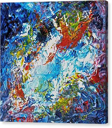 Color Explosion No Fifty Six  Canvas Print by Ten Eyck Hunt