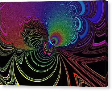 Color Image Canvas Print by Mozhgan Vakili