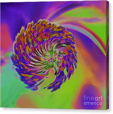 Canvas Print featuring the photograph Color Splash by Cindy Manero