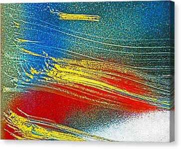 Color Wash Canvas Print by Joan McArthur