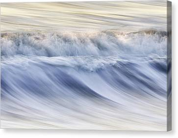 Color Wave IIi Canvas Print by Rob Travis