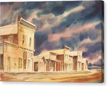 Colorada Ghost Town Canvas Print