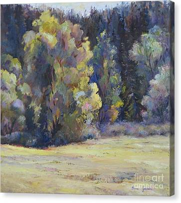 Colorado Colors Canvas Print by Bonnie Goedecke