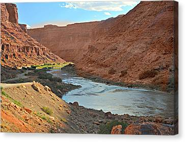 Colorado River Canyon 1 Canvas Print by Marty Koch