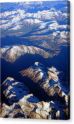 Colorado Rocky Mountains Planet Earth Canvas Print by James BO  Insogna