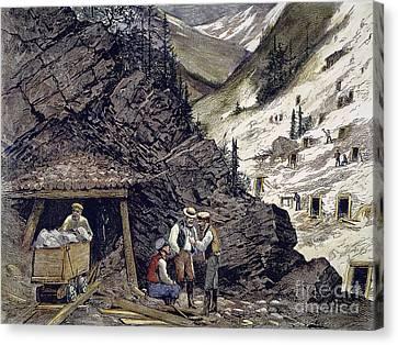 Colorado Silver Mines, 1874 Canvas Print by Granger