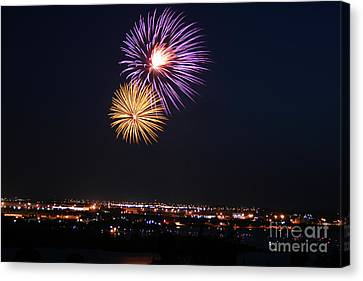 Independance Canvas Print - Colorburst In July by Kelly Christiansen
