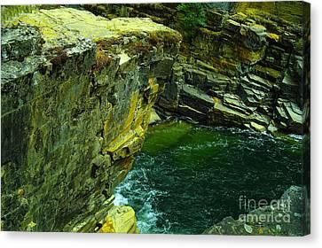 Yak Canvas Print - Colored Rocks  by Jeff Swan