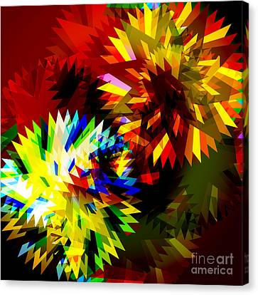 Factory Canvas Print - Colorful Blade by Atiketta Sangasaeng