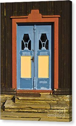 Colorful Entrance Canvas Print by Heiko Koehrer-Wagner