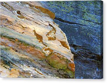 Colorful Rocks Canvas Print by Milena Ilieva