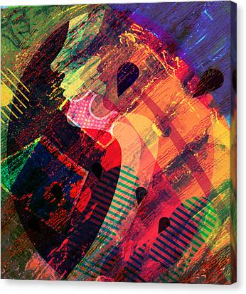 Colors In Transition Canvas Print