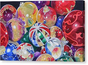 Colors Of Christmas ...sold  Canvas Print