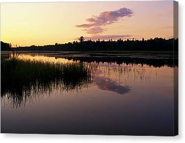 Canvas Print featuring the photograph Colors Of The Dawn by Yelena Rozov