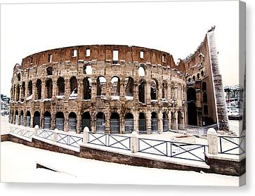 Colosseum Canvas Print by Fabrizio Troiani