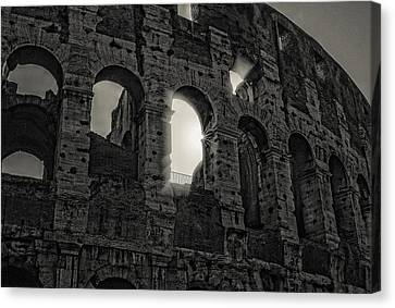 Colosseum Canvas Print by Michael Avory