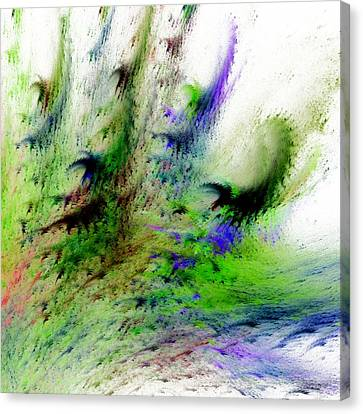 Colours Of Nature Canvas Print by Sharon Lisa Clarke